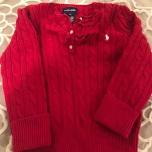 RL red sweater